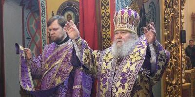 В Неделю четвертую Великого поста епископ Великолукский и Невельский Сергий совершил…