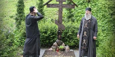 Свято-Успенский Святогорский мужской Монастырь п. Пушкинские Горы посетил схиархимандрит…