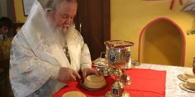 В день Преображения Господа Бога и Спаса нашего Иисуса Христа, епископ Великолукский…